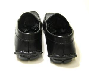 No.4 レザー シューズ 靴 メンズ (ブラック) 6(日本サイズ約25cm)