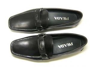 No.2 靴 メンズ レザーシューズ (ブラック)6サイズ(日本サイズ約25cm)
