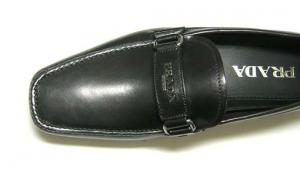 No.6 靴 メンズ レザーシューズ (ブラック)6サイズ(日本サイズ約25cm)