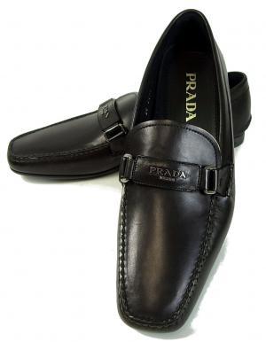 No.7 靴 メンズ レザーシューズ (ブラック)6サイズ(日本サイズ約25cm)
