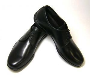プラダ 靴 メンズ レザーシューズ (ブラック)9サイズ MainPhoto