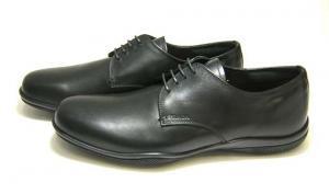No.3 靴 メンズ レザーシューズ (ブラック)9サイズ
