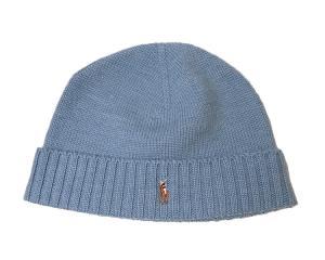 ラルフ ローレン 帽子 ニット帽 メンズ レディース (ライトブルー)
