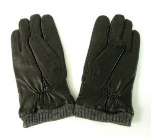 No.2 手袋 メンズ ベルト付きグローブ (ブラック) Sサイズ