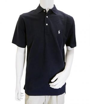 ラルフ ローレン ポロシャツ コットン ゴルフ用 XLサイズ(ネイビー)