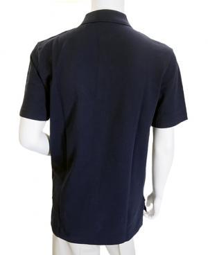 No.5 ポロシャツ コットン ゴルフ用 XLサイズ(ネイビー)