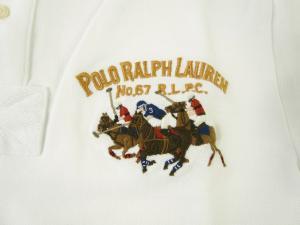 No.4 ポロシャツ ビッグポニー コットン (ホワイト)