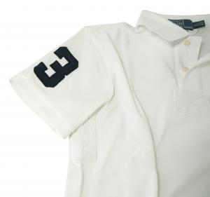 No.5 ポロシャツ ビッグポニー コットン (ホワイト)