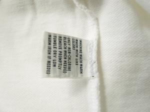 No.6 ポロシャツ ビッグポニー コットン (ホワイト)