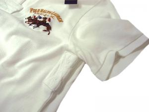 No.7 ポロシャツ ビッグポニー コットン (ホワイト)