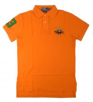 ラルフ ローレン ポロシャツ ビッグポニー (オレンジ) コットン
