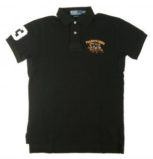 ラルフ ローレン ポロシャツ ビッグポニー コットン (ポロブラック) Sサイズ