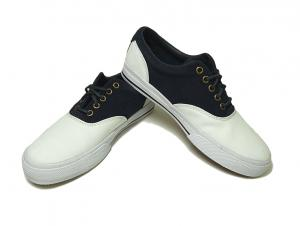 ラルフ ローレン 靴 メンズ キャンバス スウェード コンビ スニーカー 7(日本サイズ約25cm)