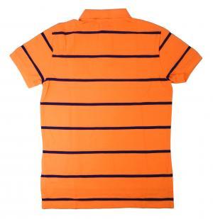 No.2 ポロシャツ メンズ (メロン)