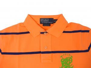 No.3 ポロシャツ メンズ (メロン)