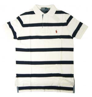 ラルフ ローレン ポロシャツ メンズ Sサイズ(ホワイト)