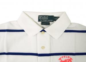 No.3 ポロシャツ メンズ (ホワイト)