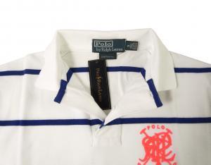 No.4 ポロシャツ メンズ (ホワイト)