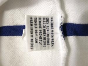 No.5 ポロシャツ メンズ (ホワイト)