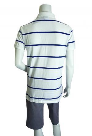 No.6 ポロシャツ メンズ (ホワイト)
