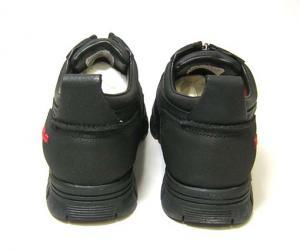 No.4 靴 メンズ アウトドアシューズ (ブラック)