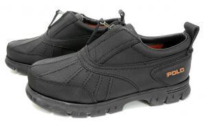 No.7 靴 メンズ アウトドアシューズ (ブラック)