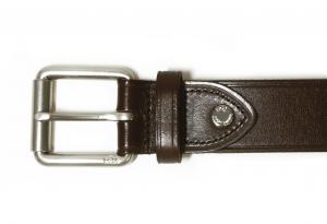 No.3 ベルト メンズ レザー (ブラウン) 36インチ(90cm)
