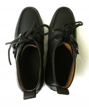 No.4 靴 メンズ シューズ アウトドア (ブラック)