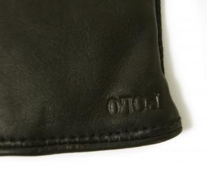 No.3 手袋 グローブ メンズ レザー シープ 羊革 Mサイズ(ブラック)