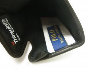 No.5 手袋 グローブ メンズ レザー シープ 羊革 Mサイズ(ブラック)