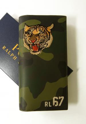 ラルフ ローレン 長財布 メンズ 二つ折 トラ 虎 タイガー TIGER