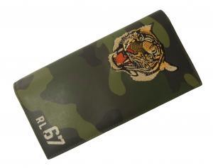 No.6 長財布 メンズ 二つ折 トラ 虎 タイガー TIGER