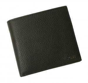 No.6 財布 メンズ 二つ折 (ブラック)