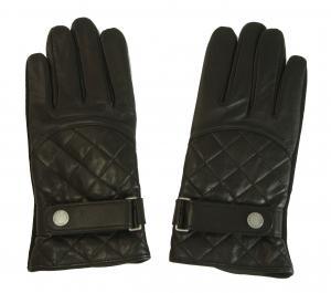 ラルフ ローレン 手袋 グローブ シープスキン 羊革 レザー メンズ (ブラック)