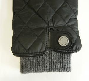 No.3 手袋 グローブ メンズ レザー シープ 羊革 ポリエステル ブラック