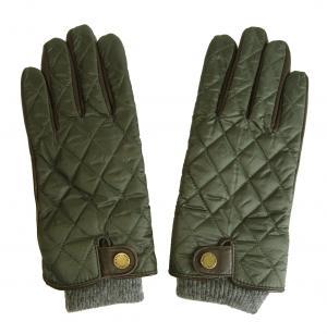 ラルフ ローレン 手袋 グローブ メンズ レザー シープ 羊革 ポリエステル グリーン
