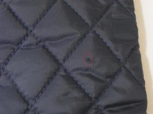 No.7 <訳あり・アウトレット>手袋 グローブ メンズ レザー シープ 羊革 ポリエステル ブルーSサイズ