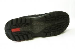No.5 トレッキングシューズ 靴 メンズ (ブラック)