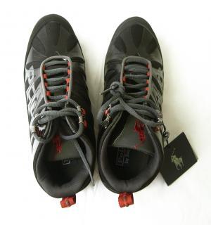 No.6 トレッキングシューズ 靴 メンズ (ブラック)