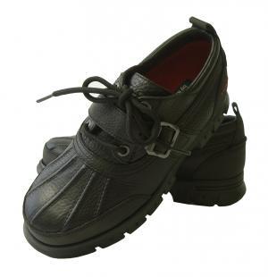 ラルフ ローレン 靴 メンズ アウトドアシューズ (ブラック)
