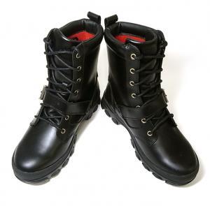 ラルフ ローレン ブーツ レザー メンズ 靴 (ブラック)