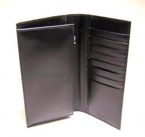 No.4 長財布 マイクロガンチーニモノグラム二つ折(ブラック)