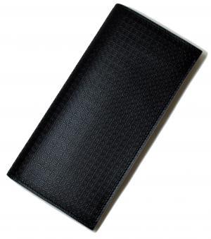 No.7 長財布 マイクロガンチーニモノグラム二つ折(ブラック)