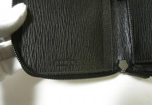 No.6 長財布 ラウンドファスナー (ブラック)*大きめサイズ