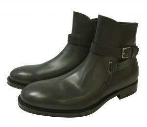 サルヴァトーレフェラガモ ブーツ 靴 メンズ レザー ブラック SAVERIO