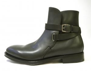 No.2 ブーツ 靴 メンズ レザー ブラック SAVERIO