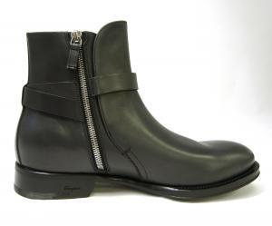No.3 ブーツ 靴 メンズ レザー ブラック SAVERIO