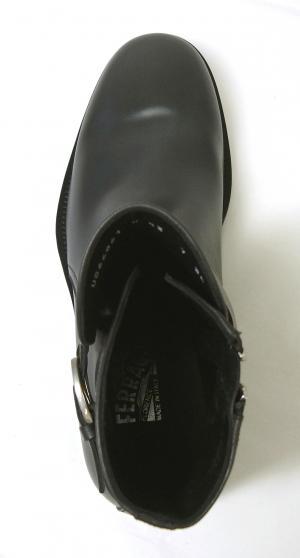 No.5 ブーツ 靴 メンズ レザー ブラック SAVERIO