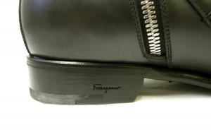 No.7 ブーツ 靴 メンズ レザー ブラック SAVERIO