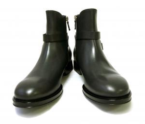 No.8 ブーツ 靴 メンズ レザー ブラック SAVERIO